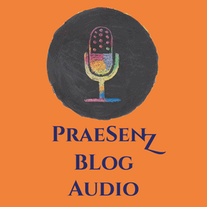 PraeSenZ Audio Blog Logo Orange