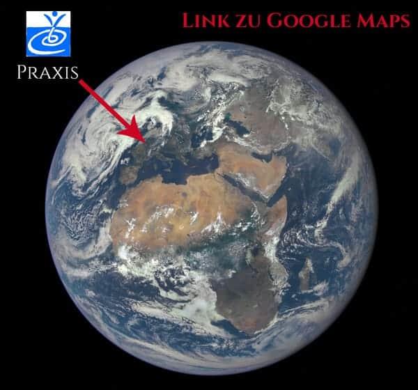 PraeSenZ-Praxis Rückführungstherapie Google Maps-Link