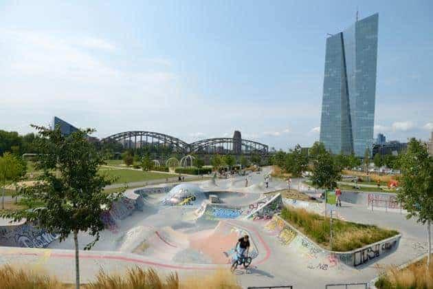 Skatepark Osthafen Frankfurt